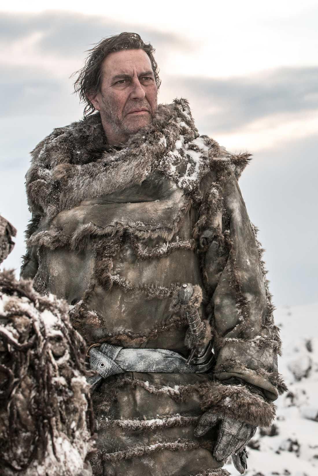 Mance Ryder, the king beyond the wall, har också fått kläder gjorda av Lineas avdelning.