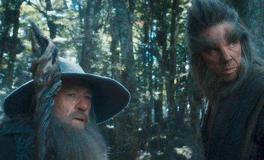 """Mikael Persbrandt som Beorn i """"Hobbit: Smaugs ödemark""""."""