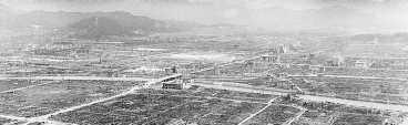 Glömmer vi atombomben över Hiroshima för att det finns så få bilder av katastrofen? Detta är en av en handfull bilder av förödelsen efter att bombplanet Enola Gay fällt bomben Little Boy över Hiroshima.