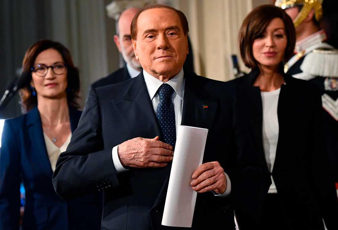 Silvio Berlusconi. Arkivbild.
