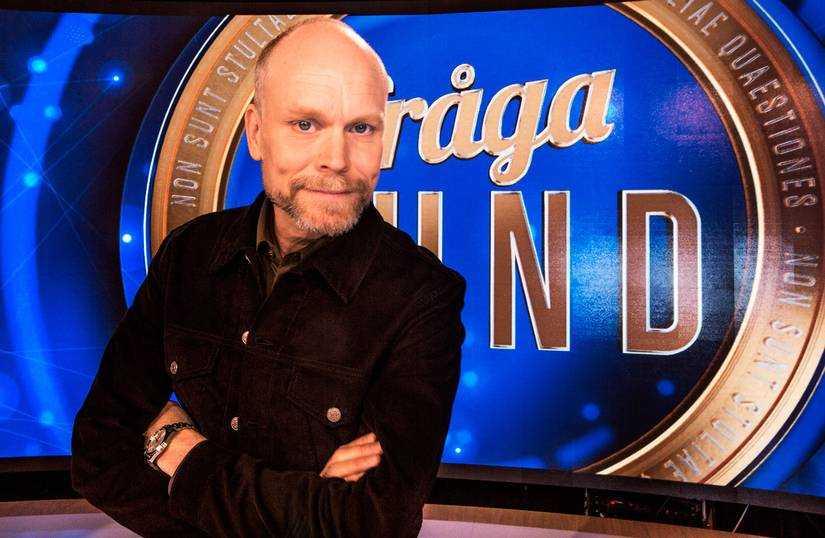 """Kristian Luuk lämnar """"Fråga Lund"""" efter tre år."""