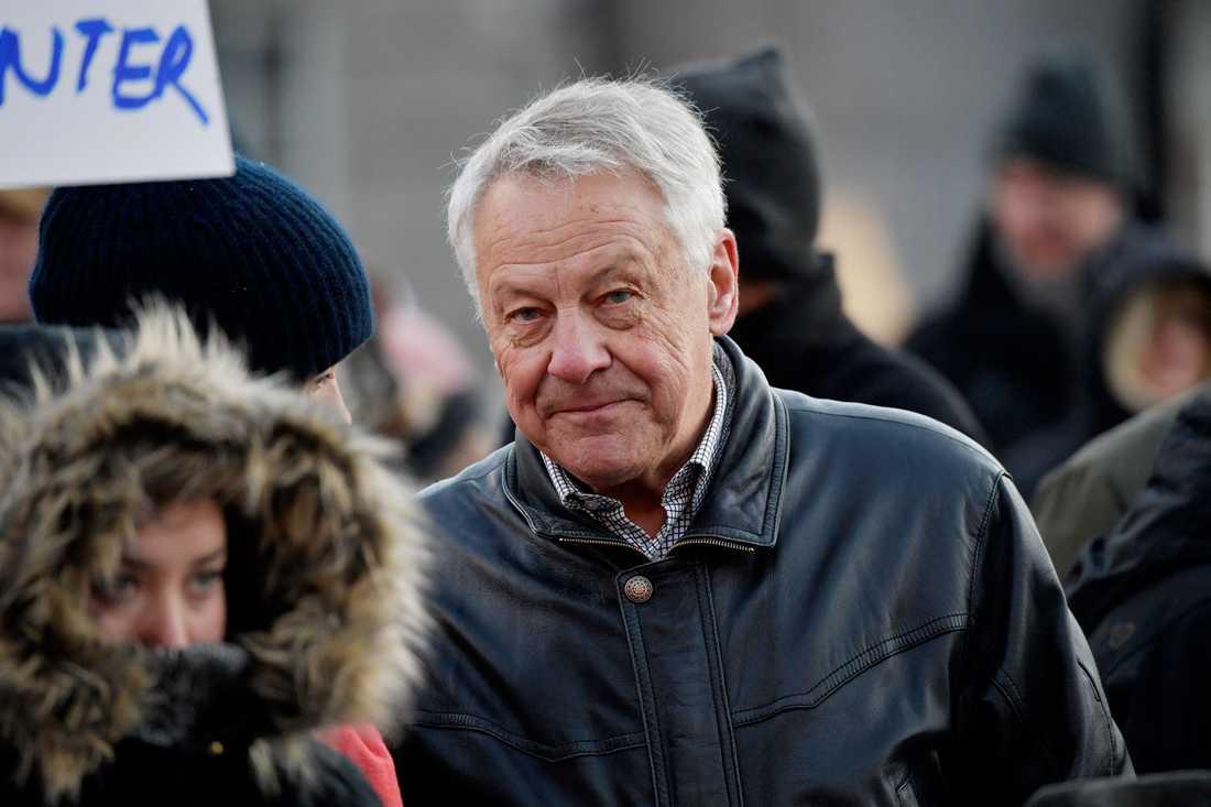 Bengt Westerberg partiledare för Folkpartiet, nuvarande Liberalerna  mellan 1983 och 1995.