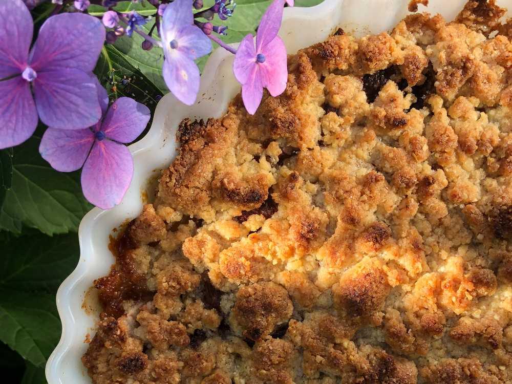 Äppelpaj – recept med flingsalt