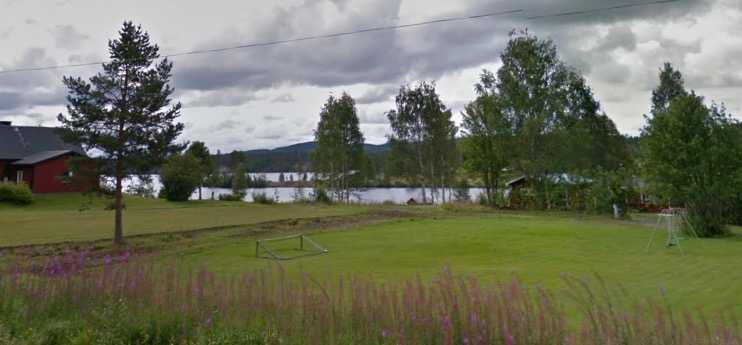 Sjön Bastuträsket.