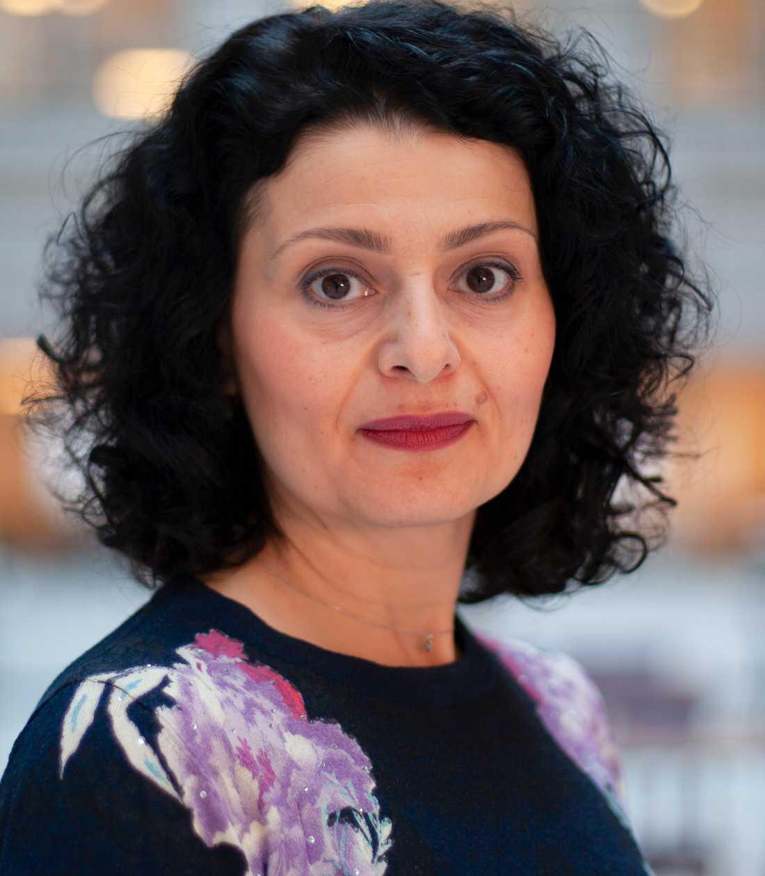 Deklarationsexperten Athina Karapanagiotidou.