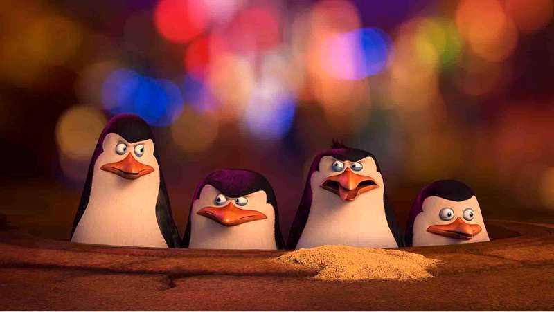 Pingvinerna från Madagaskar.