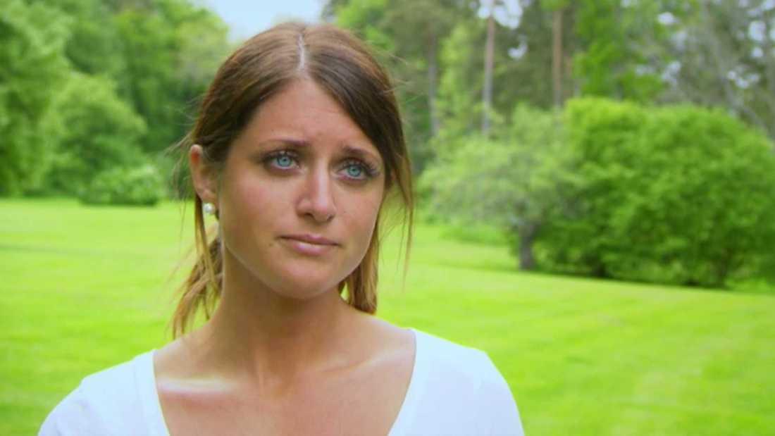 Matilda Tärnhammar valde att åka hem direkt.