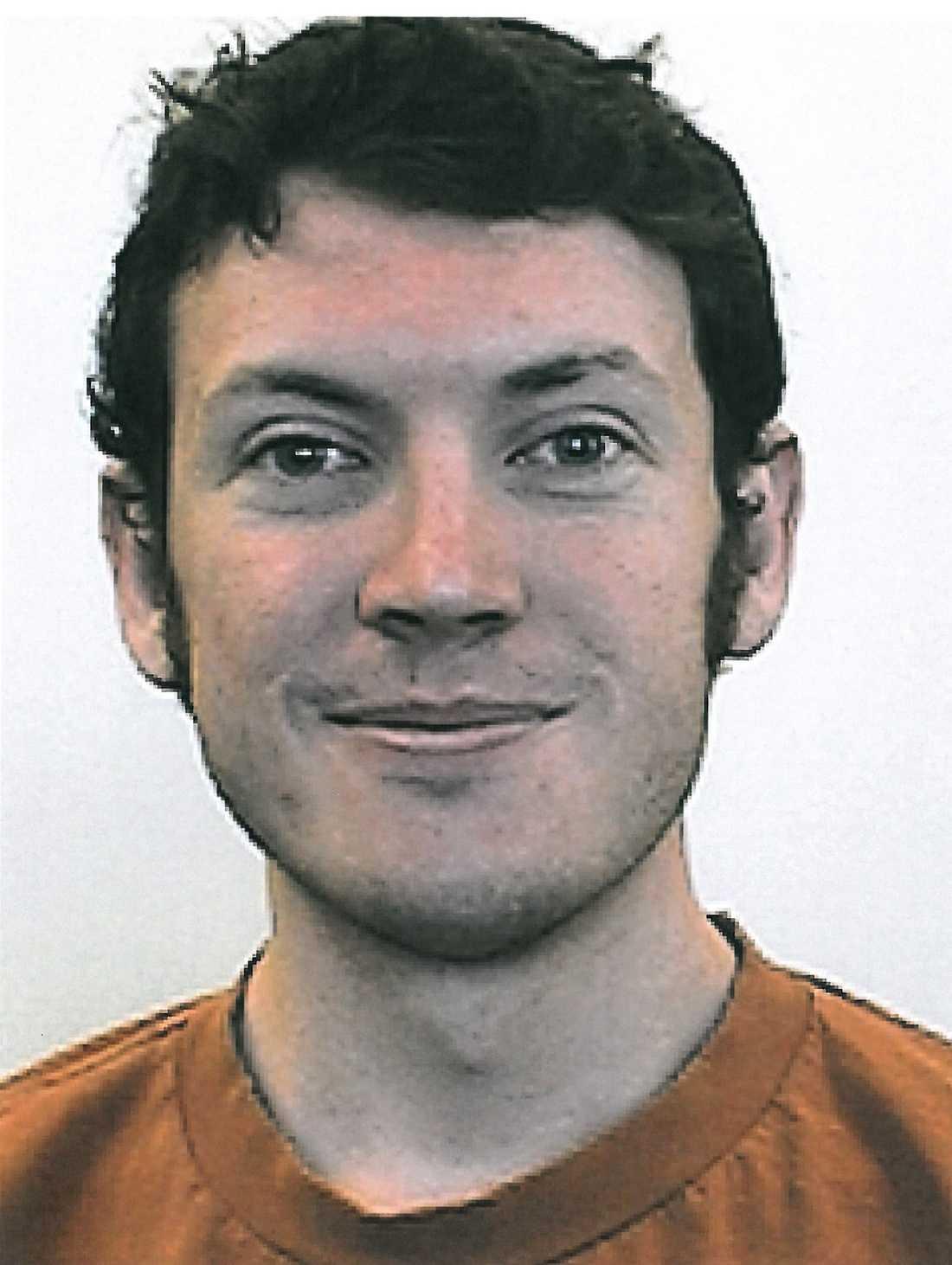 Misstänkte massmördaren James Holmes, 24