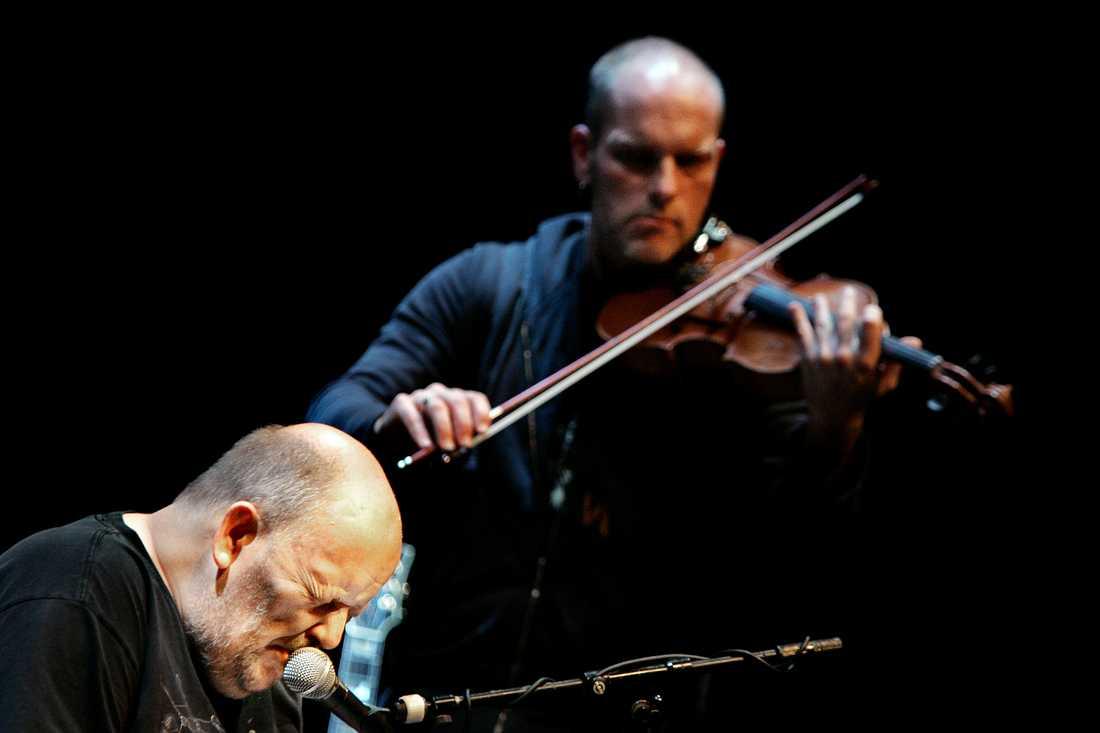 Freddie Wadling på Orionteatern i Stockholm 2005