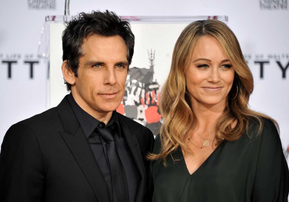 Ben Stiller och Christine Taylor.