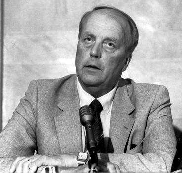 Carl Algernon dog i tunnelbanan 1981.