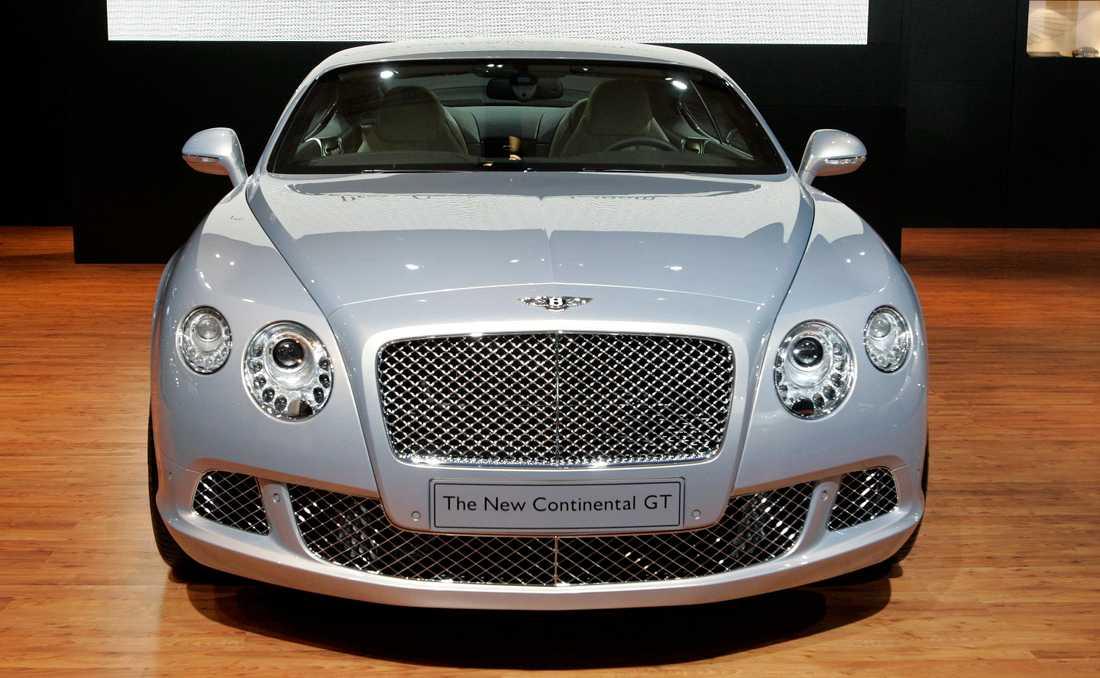 En Bentley Continental