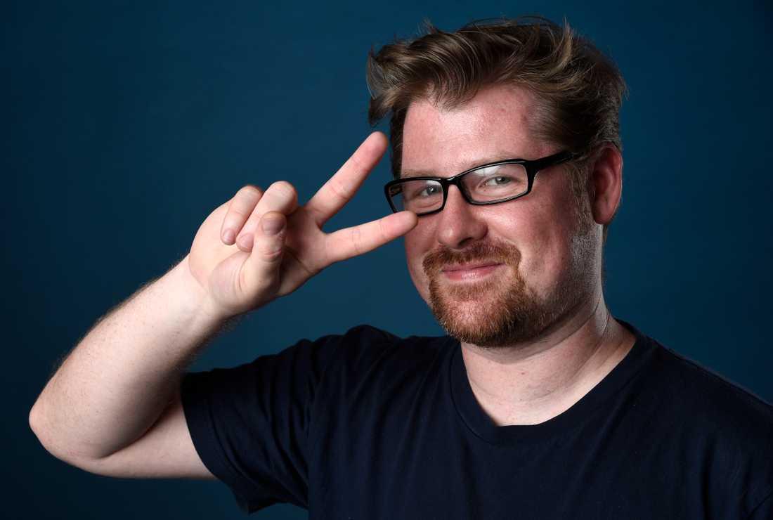 """Justin Roiland har skapat """"Rick and Morty"""" och gör båda rollfigurernas röster. Arkivbild."""