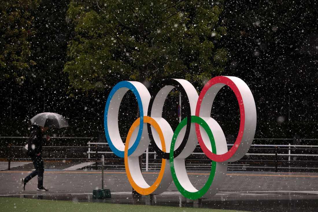 Enligt uppgifter till nyhetsbyrån Reuters planeras nu för att skjuta upp sommarens OS i Tokyo. Arkivbild.