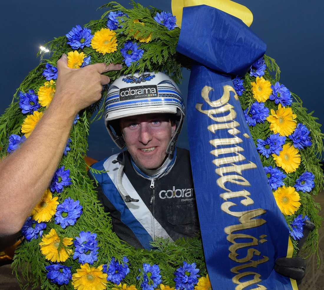 Christoffer Eriksson vann SprinterMästaren i fjol