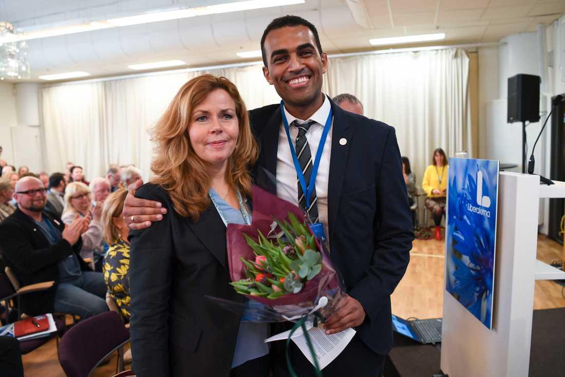 Cecila Wikström och Said Abdu utsågs tidigare till Liberalernas toppkandidater till EU-valet. Nu har Wikström petats.
