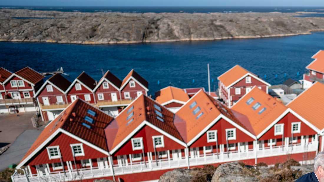 Sotenäs, med centralorten Kungshamn, är en av de kommuner som nu stoppar hemtjänst till fritidsboende. Arkivbild.