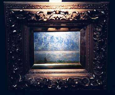 Målade Strindberg Den ensamma blomman och Vågen eller är de falska? På tisdag ska de säljas på auktion men forskare hävdar att de inte är äkta.