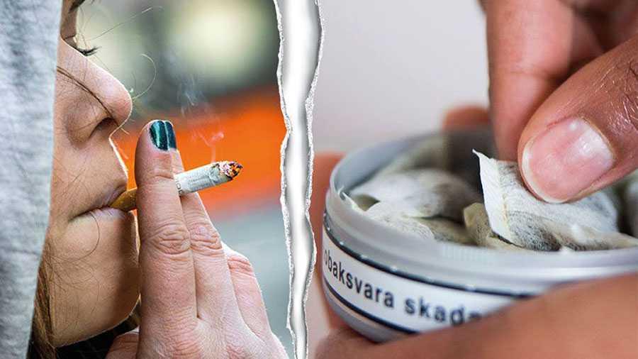 En ny studie visar att svenska kvinnor har en högre dödlighet i tobaksrelaterade sjukdomar än EU-snittet. Detta samtidigt som det bland männen inte finns något EU-land som har lägre tobaksbaserad dödlighet än Sverige. I klartext: svenska män snusar medan kvinnorna röker, skriver debattörerna.