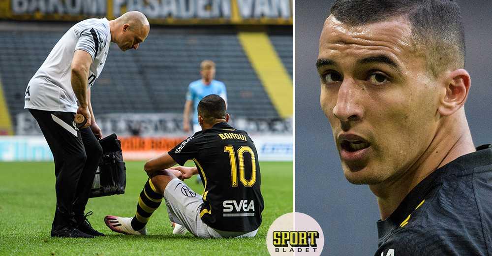 Bahoui ut skadad för AIK