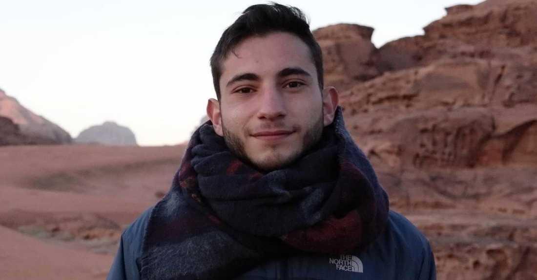 23-åriga beirutbon och politiska aktivisten Marc Ghazali.