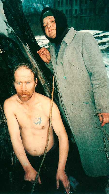 """Boris Mikhailov, från bildserien """"Case History"""", 1997–1999."""