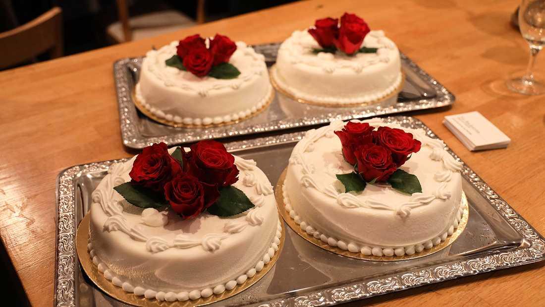 Bröllopstårtor.