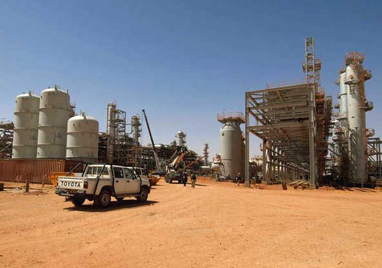 Statoils anläggning i Algeriet. (Arkivbild)