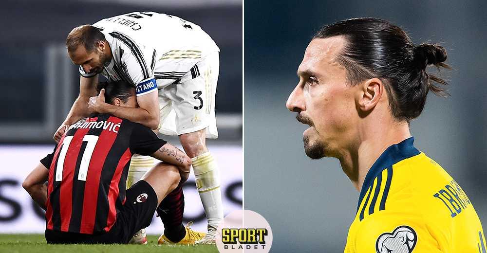 Blågults besked: Skadan stoppar Zlatan från EM