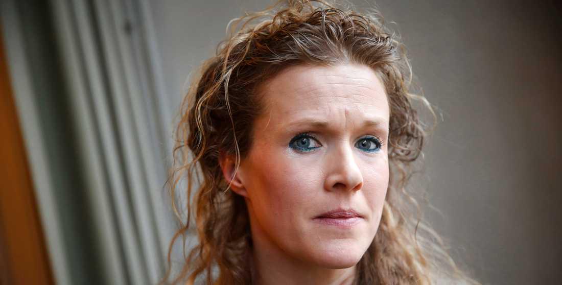 Barnmorskan Ellinor Grimmark lämnade i går in en anmälan av svenska staten till Europadomstolen.