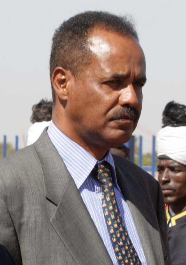 Eritreas president Issayas Afwerki.