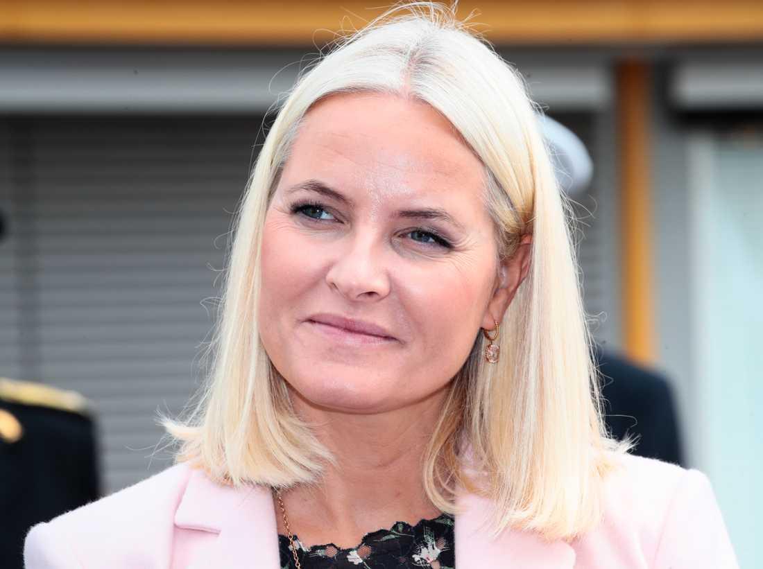Norska kronprinsessan Mette-Marit.