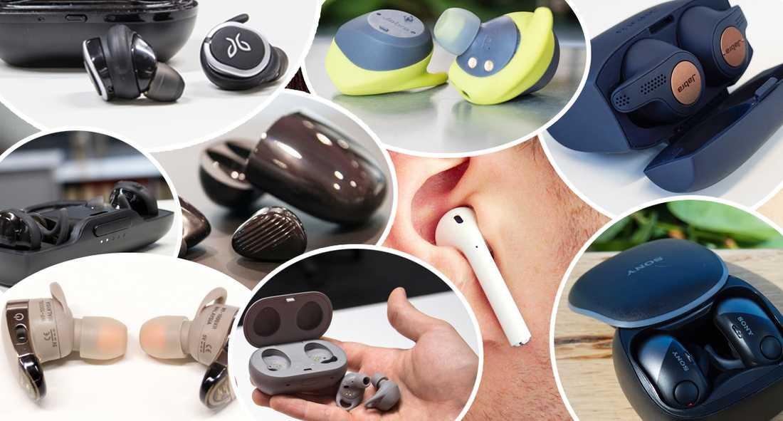 Vilka helt true trådlösa hörlurar ska man välja?