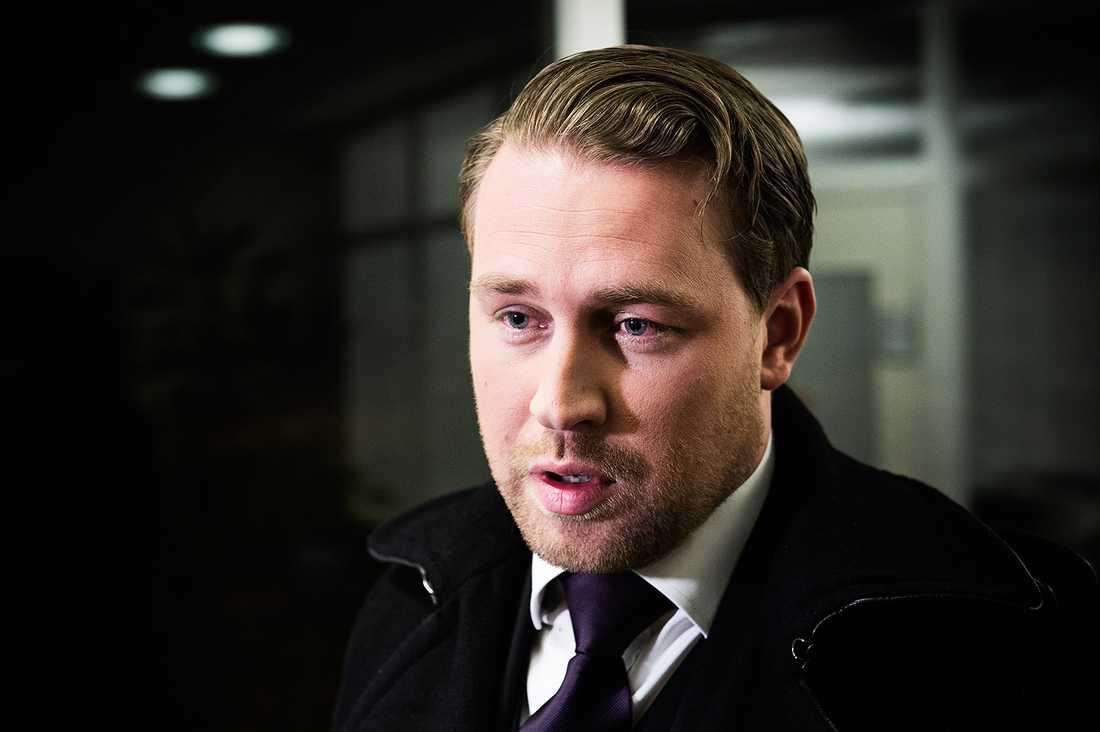 Mattias Karlsson, SD.