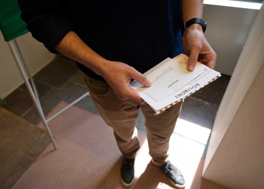 Personer med medborgarskap i flera EU-länder kan i praktiken rösta flera gånger i EU-valet. Arkivbild.