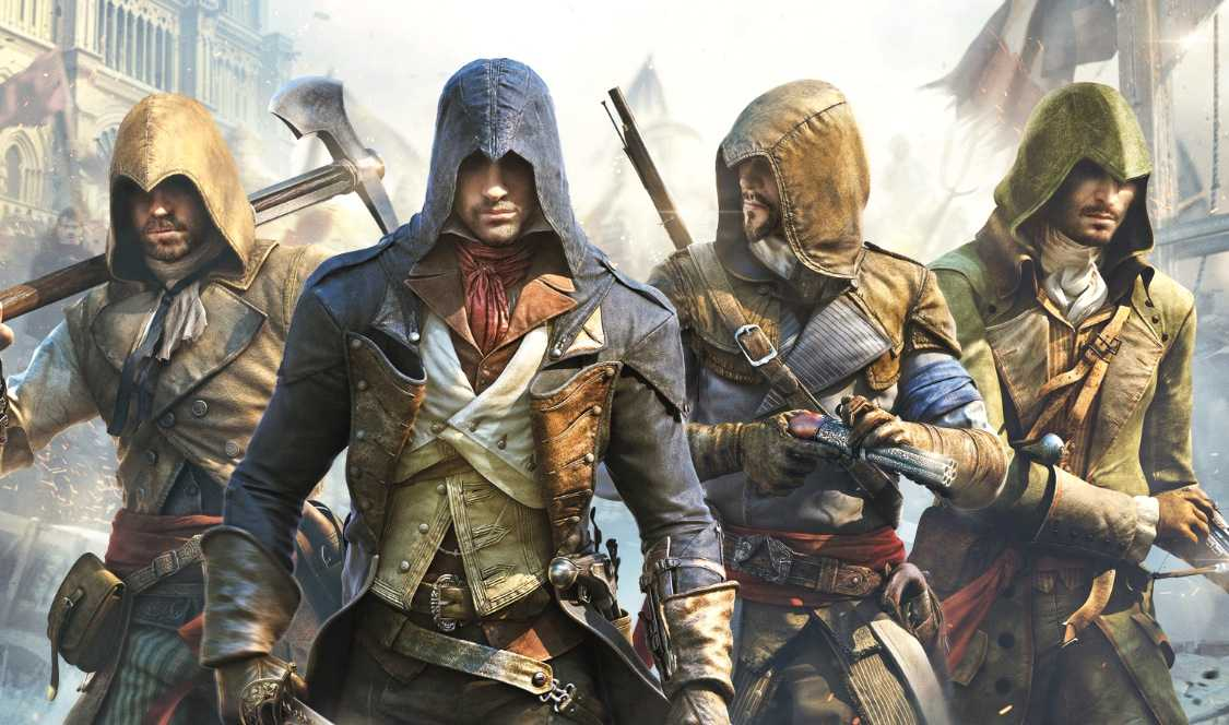 """Assassin's creed: Unity""."