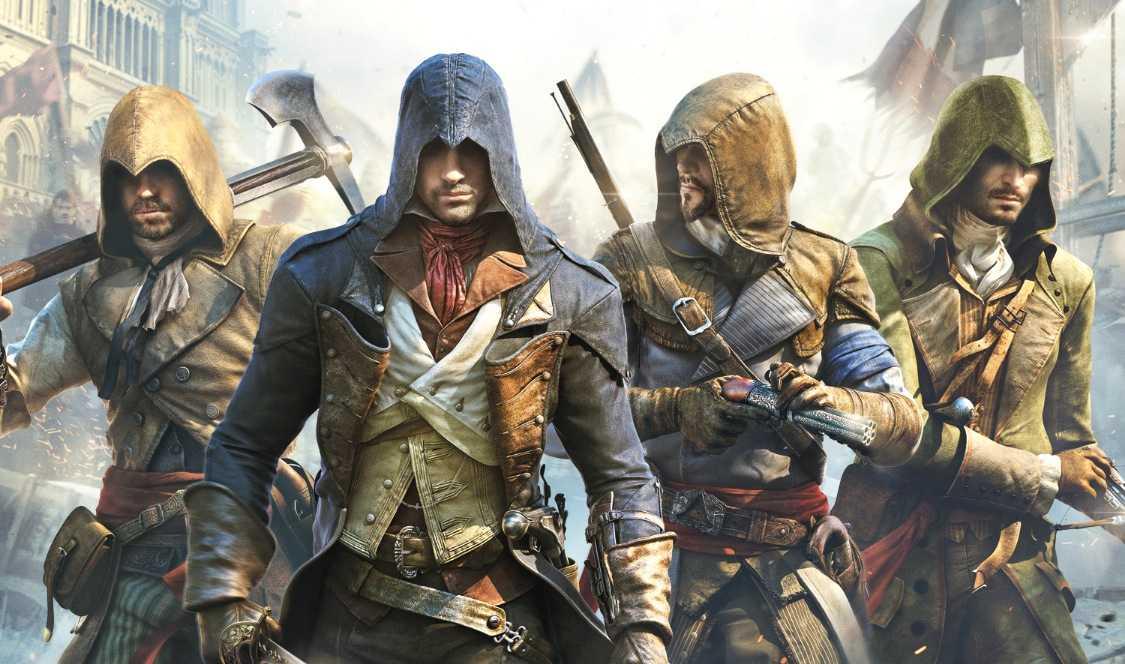 """Assassin's creed: Unity""."