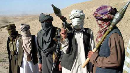 Talibankrigare i Afghanistan hösten 2007.