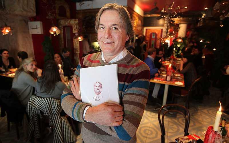 Nöjd Restaurangägaren Peter Ilic.