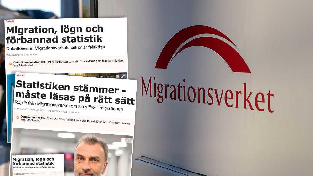 Det finns mycket att önska i den statistik som Migrationsverket lagt fram som underlag för beslut om den framtida migrationspolitiken. Siffrorna som riksdagspartierna fått på sina bord är som gjord för att förvilla, skriver debattörerna.