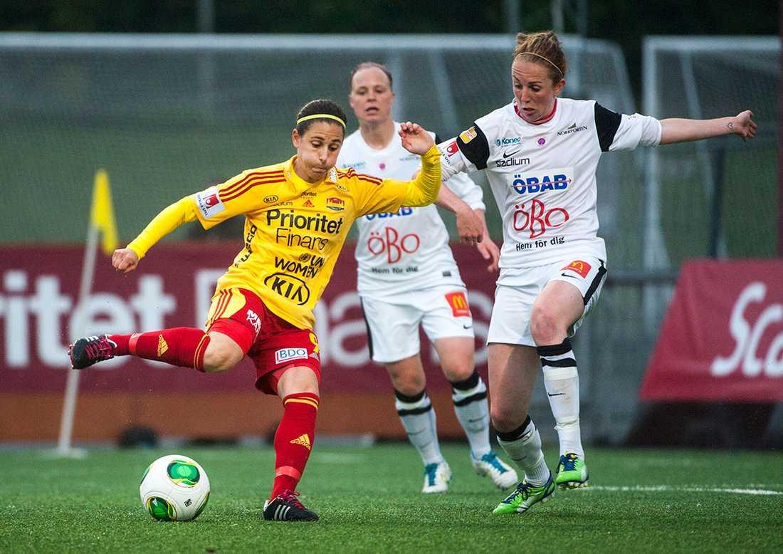 Bland annat Veronica Boquete spelade i Tyresö.