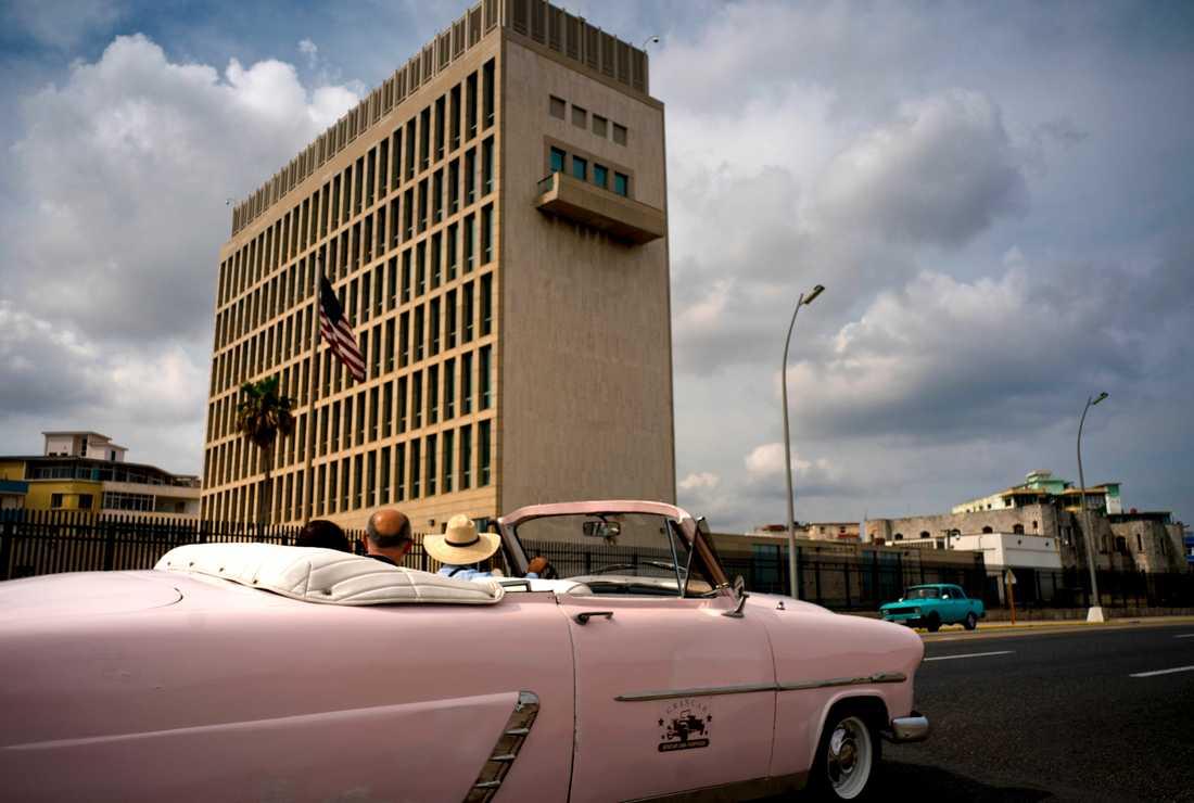 USA:s ambassad i Kubas huvudstad Havanna. Arkivbild.