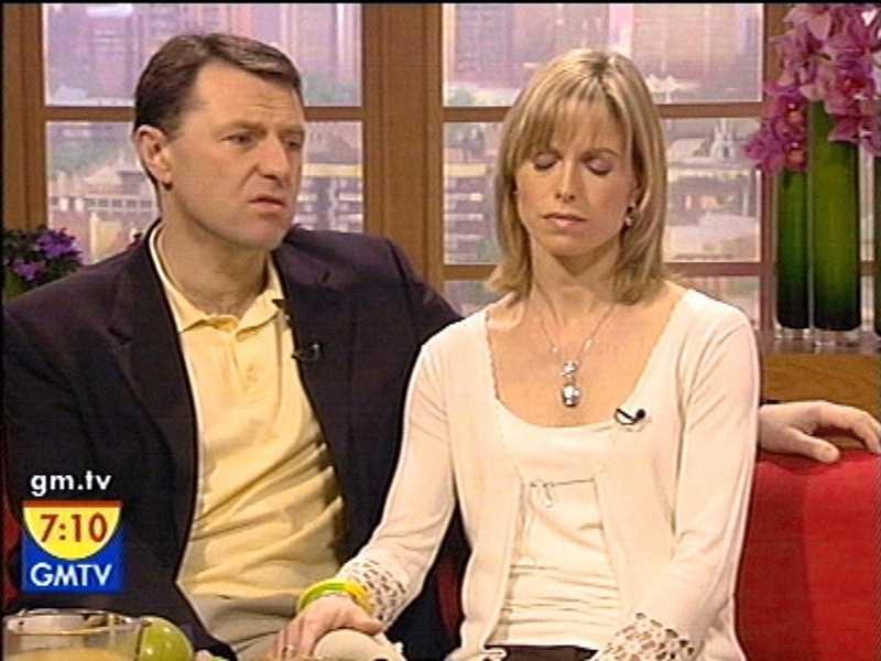 Kate och Gerry McCann intervjuas i direktsänd tv. De berättade för GMTV att de aldrig kommer att ge upp sökandet efter Madeleine.