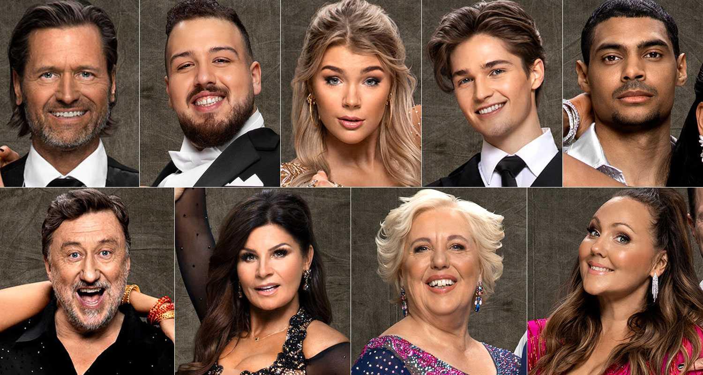 """Så var """"Lets dance"""" i TV4 – första paret har fått lämna tävlingen"""