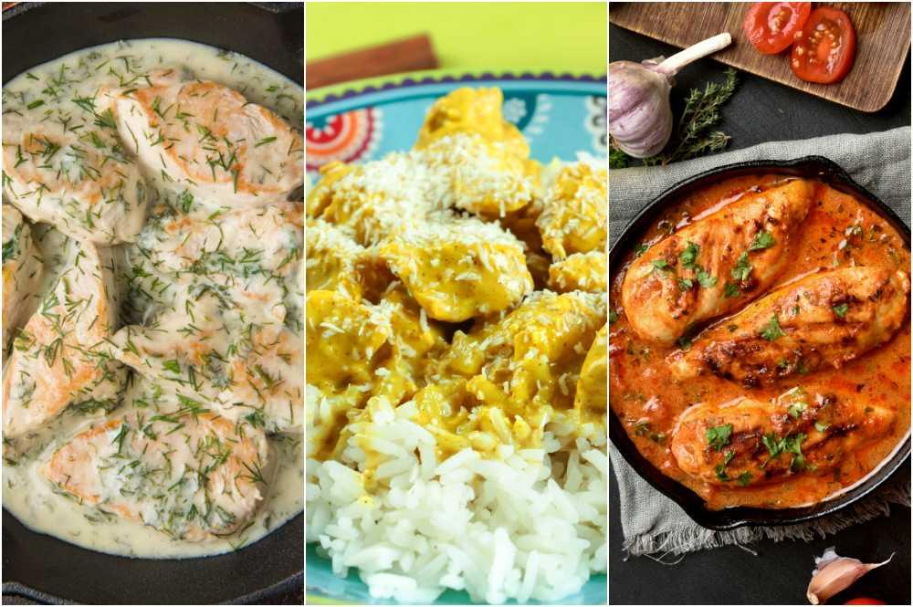 Dill, curry eller tomat, kyckling passar till det mesta.