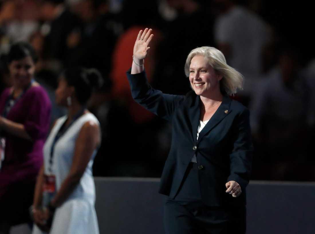Kirsten Gillibrand, demokratisk senator från New York.