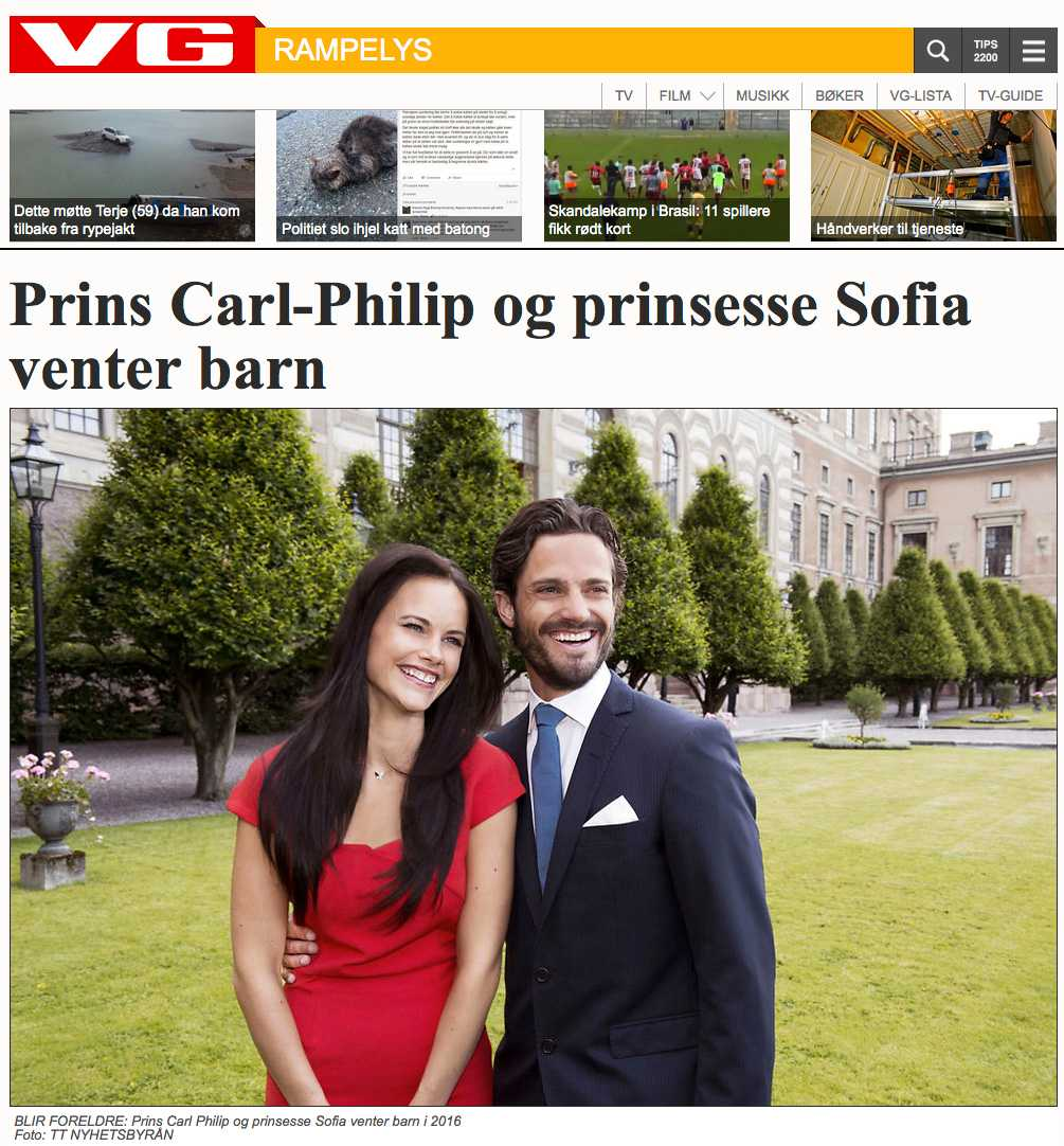 VG, Norge