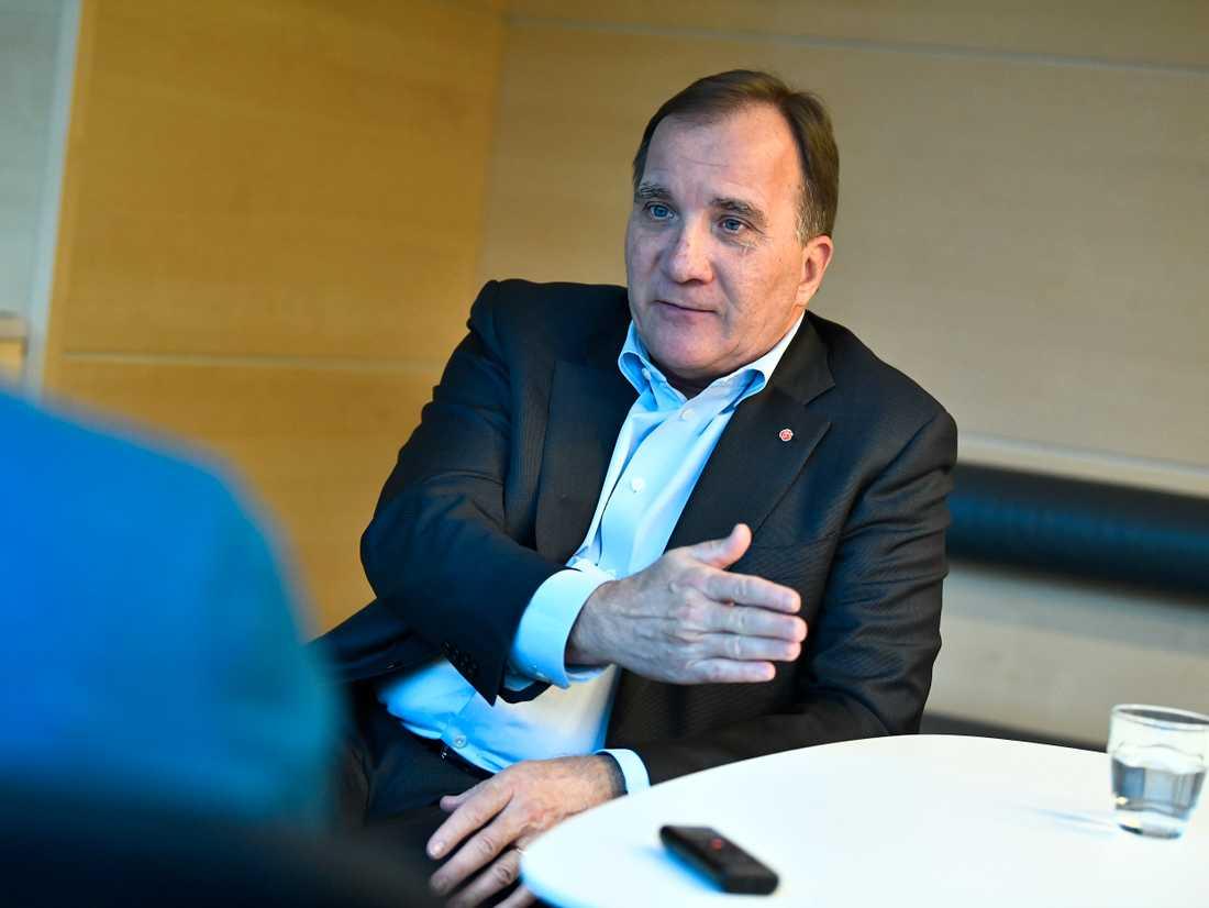 Statsminister Stefan Löfven (S) anser att Sverige har förberett sig så gott det går för en hård brexit.