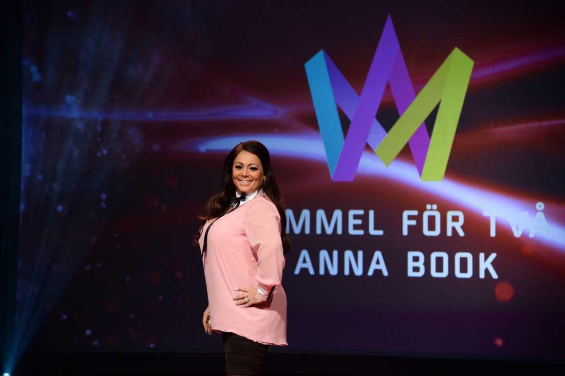 """Camilla läckberg har skrivit Anna Books låt """"Himmel för två""""."""