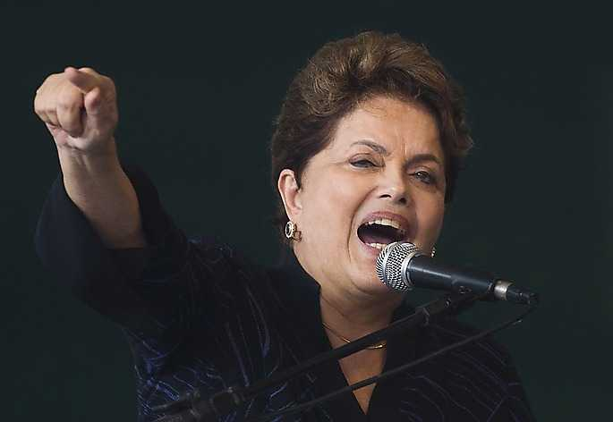 Brasiliens president Dilma Rousseff.